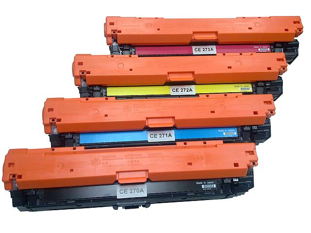 Картридж HP CE270A для Color LJ CP5525