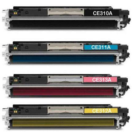 Картридж HP CE310A для Color LJ CP1025, фото 2