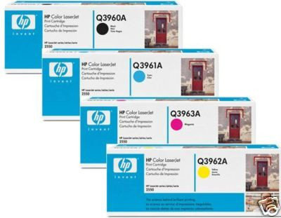 Картридж HP Q3960A для Color LJ 2550, фото 2