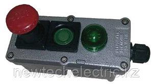 Посты управления кнопочные ПВК с индикацией