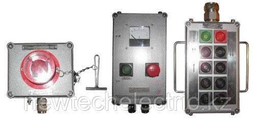 Посты кнопочные ПВК-ХХХХ из пластика или алюминия