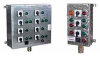 Посты кнопочные ПВКН-ВЭЛ из нержавеющей стали