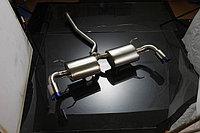 Титановый спортивный выхлоп на Mazda RX-8