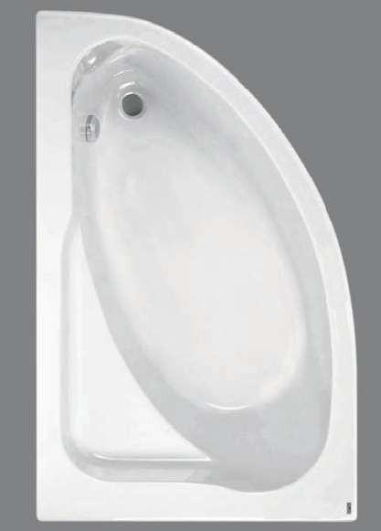 Акриловая ванна  Jika SPIRIT 163*104 см.