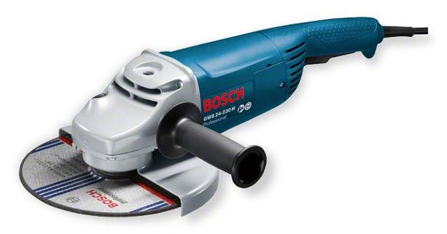 Угловая шлифмашина (болгарка) Bosch GWS 24-230 H Professional