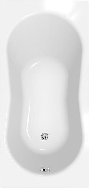 Акриловая ванна прямоугольная Cersanit NIKE 140 *70 см.