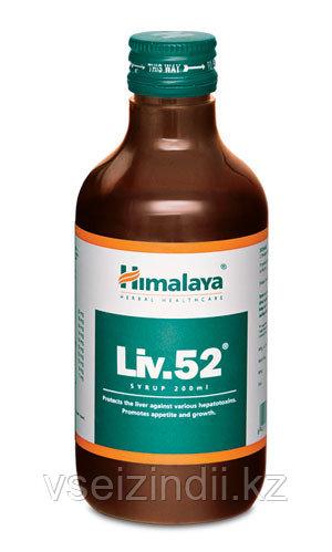 Сироп Лив 52, Гималаи  (Liv 52 syrup, Himalaya ) 200мл