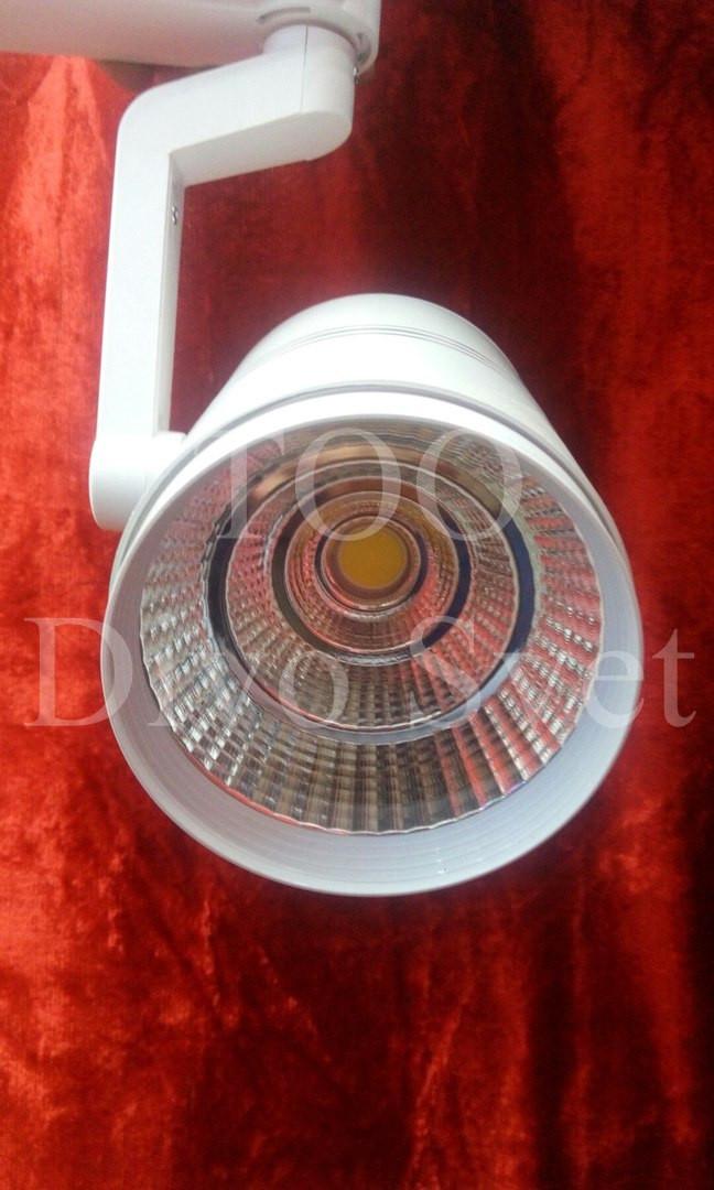 Трековый светодиодный светильник 20 W, 1950lm, 3000, 6000 К . Светодиодные трековые светильники 20 ватт