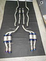 Титановый спортивный выхлоп на BMW E63/ E64 M6