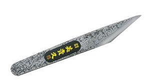 Нож-косяк японский, 180мм*20мм*3мм, правая заточка, без рукояти, 'прибитая' поверхность