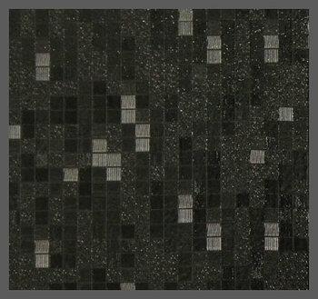 Пленка декор (3D квадрат черный)