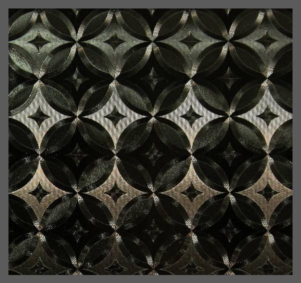 Пленка декор K6219 (3D узор черный) 1,52м