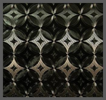 Пленка декор (3D узор черный)