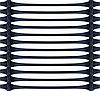 Георешетка- одноосная, используется в укреплении откосов и насыпей