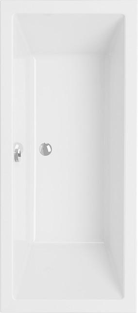 Акриловая ванна прямоугольная Cersanit INTRO 140 *75 см.