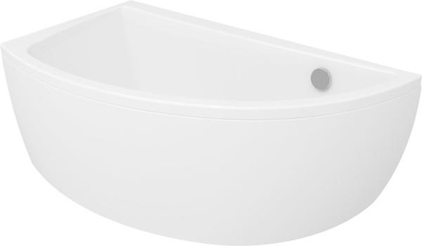Акриловая ванна асимметричная Cersanit NANO 150 *75 см. правая/левая сторона