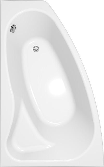 Акриловая ванна асимметричная Cersanit SICILIA  160 *100 см. правая/левая сторона