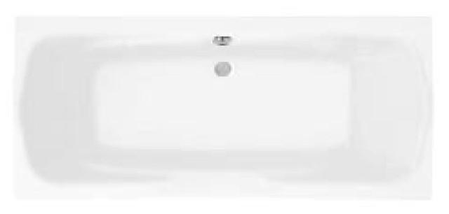 Ванна акриловая прямоугольная Santek Корсика 180*80 см.