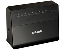 D-link маршрутизатор  DSL-2740U