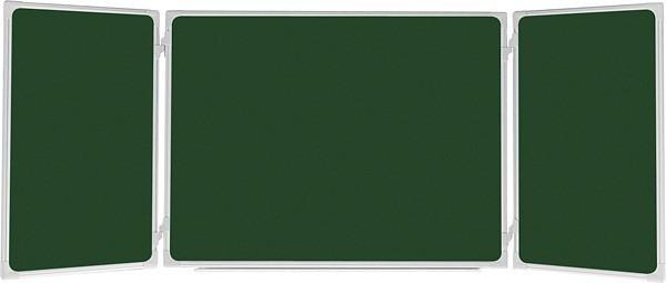 Доска меловая TRYPTYK размер: 170х100/350 см UKF 2x3 (Польша)