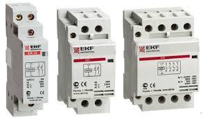 Контактор КМ 40А 4NО (3 модуль) EKF
