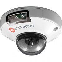 Миниатюрная купольная вандалозащищенная 4Мп IP-камера с ИК-подсветкой Activecam, фото 1