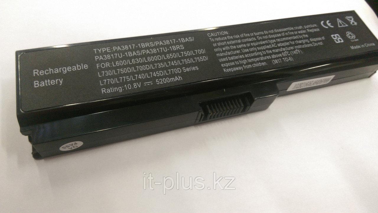 Аккумулятор для ноутбука Toshiba PA3634/ 10,8 В/ 5200 мАч, черный