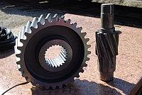 Предлагаем к поставке запчасти для редуктора механизма поворота У3515, привода передвижения ПК-6,3