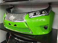Передний бампер в стиле Lexus на Corolla 2013+, фото 1