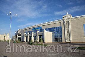 Логистическая и индустриальная зона станция Алтынколь. Нами бала спроектирована и установлена система видеонаблюдения