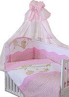 Комплект в кроватку УЛЫБКА 7 предметов