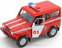 1/34 Welly UAZ 31514 Пожарная охрана