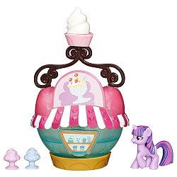 Hasbro My Little Pony Твайлайт Спаркл и кафе-мороженое