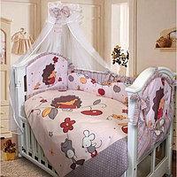 Комплект в кроватку Ежик Топа-Топ 8 предметов
