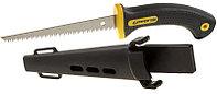 """Ножевка по гипсокартону STAYER """"Professional"""" c трехгранной 3D заточкой, 150мм"""