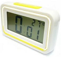 Часы с термометром и будильником говорящие (Kenko KK-9901TС)