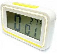 Часы с термометром и будильником говорящие (Kenko KK-9901TС) , фото 1