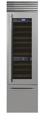 Отдельностоящий винный Холодильник Smeg WF366LDX