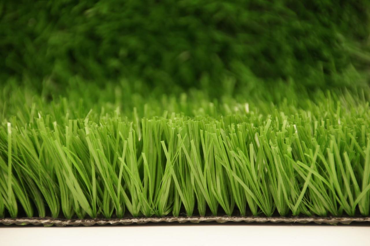 Искусственный газон 40 мм-Спорт+Футбол 12000 дтекс