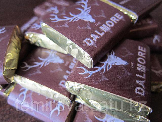 брендированный шоколад