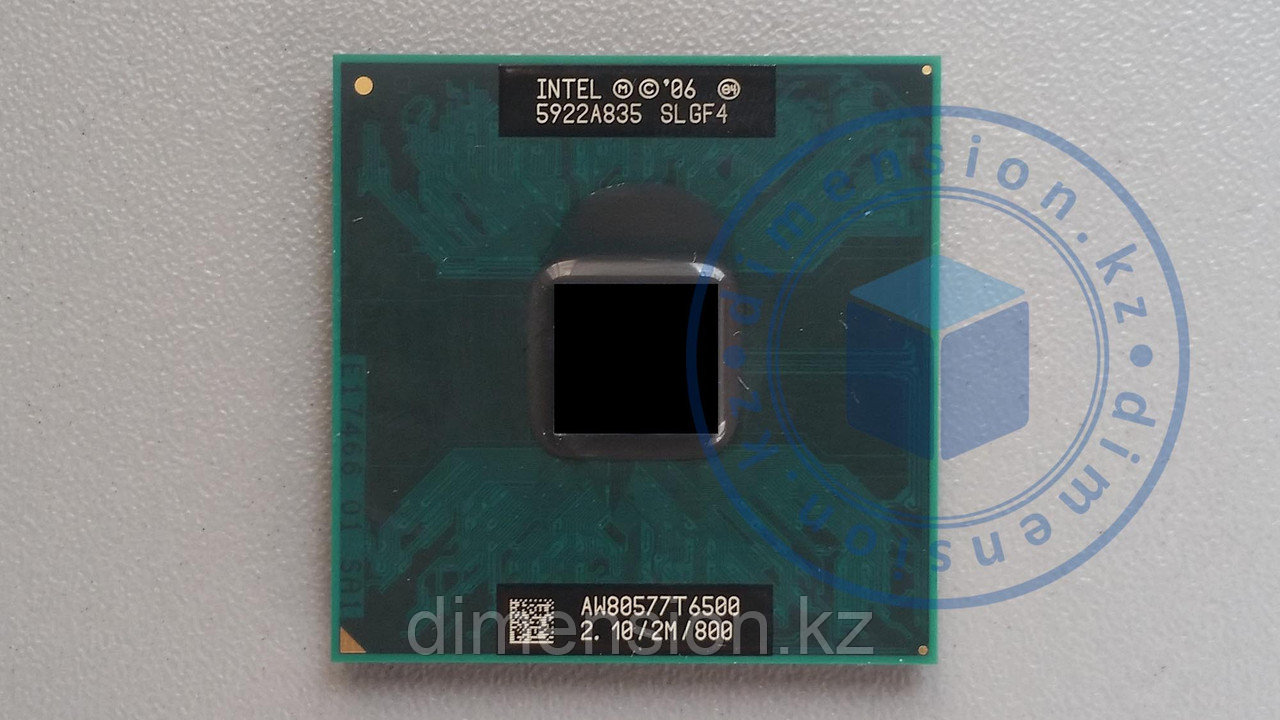 Процессор CPU для ноутбука SLGF4 Intel Core 2 Duo T6500, 2M Cache, 2.1 GHz, 800 MHz