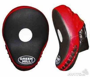 Боксерские лапы Green HILL, фото 2