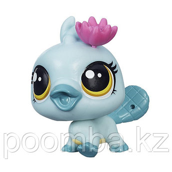 Зверушка Littlest Pet Shop - Утконос Орна с цветком