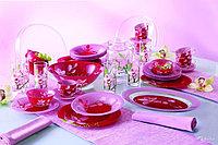 Столовый сервиз Red Orchis 45 предметов Люминарк, фото 1