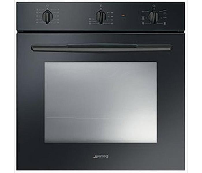 Встраиваемая духовка черная SMEG SF561N