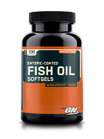 Специальные добавки Fish Oil 1000 mg, 100 softgel.