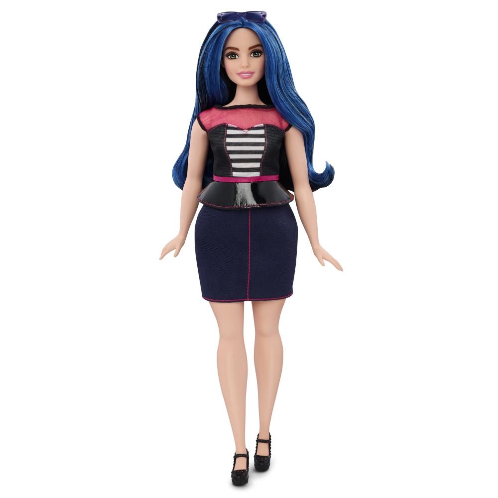 """Barbie """"Игра с модой"""" Кукла Барби, Городской стиль #27 (Пышная)"""
