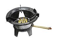 Газовая горелка для казана и вок, 22х32см