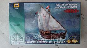 """Сборная модель Корабль экспедиции Христофора Колумба """"Нинья"""""""