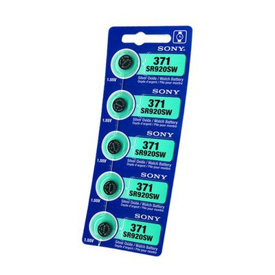 Батарейка Sony 371 1.55v   SR920SW